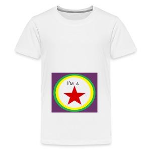 I'm a STAR! - Teenage Premium T-Shirt