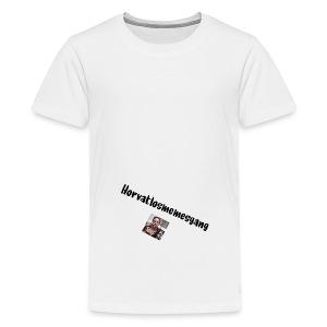 Horvatmemesgang offcial Hoodie - Teenager Premium T-Shirt