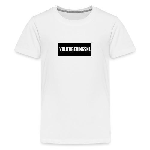 YoutubeKingsNL Bar Logo - Teenager Premium T-shirt