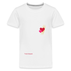 Teddy.Kidswear. – Hearts - Teenager Premium T-Shirt