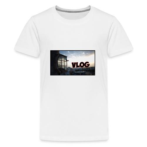 Vlog - Teenage Premium T-Shirt