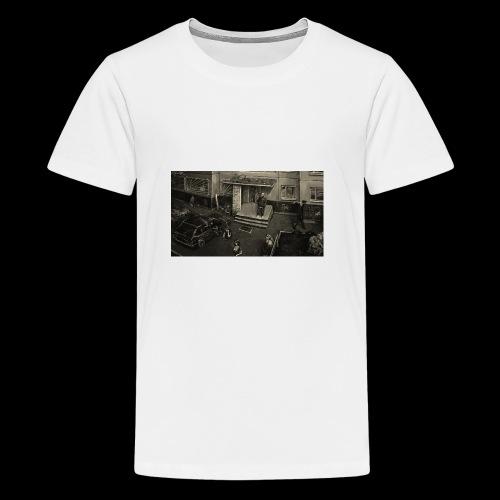 BLOCK HOODIE - Teenager Premium T-Shirt