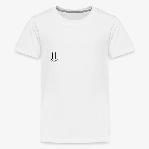 Simple Smiley face - Teenage Premium T-Shirt