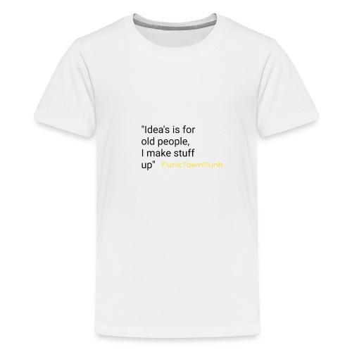 Thinking alive range - Teenage Premium T-Shirt