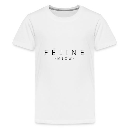 Féline - Camiseta premium adolescente