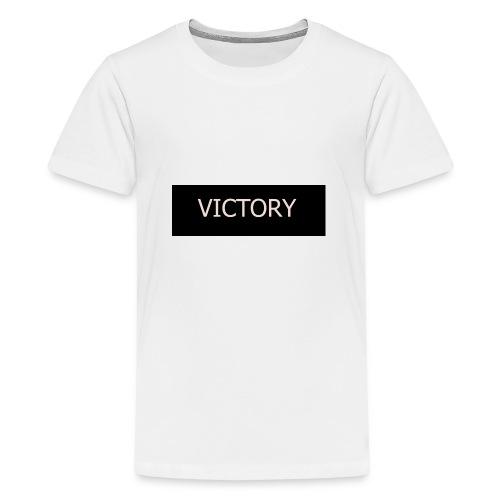 VICTORY - Teenage Premium T-Shirt