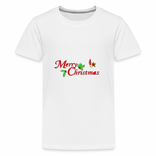 -Merry Christmas- - Teenager Premium T-Shirt