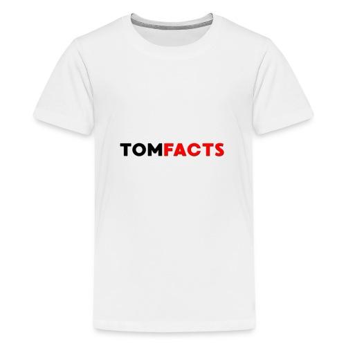TomFacts - Teenage Premium T-Shirt