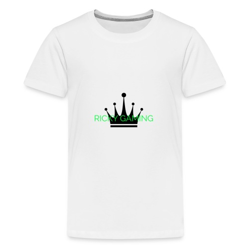 RICKY THE KING - Teenage Premium T-Shirt