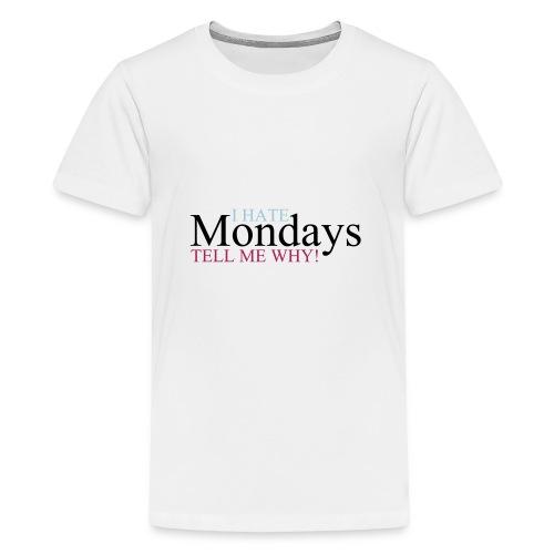 I_hate_mondays-ai - Maglietta Premium per ragazzi