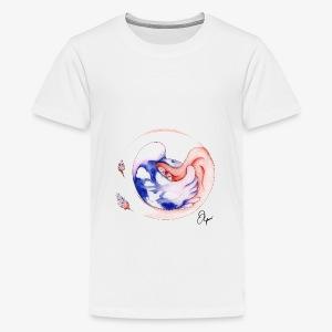 Schlafendes Mädchen - Teenager Premium T-Shirt