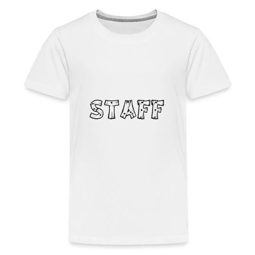 STAFF - Maglietta Premium per ragazzi