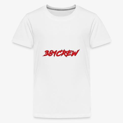 381CREW LABEL - Teenager Premium T-Shirt
