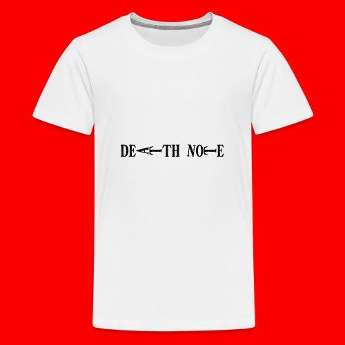 Death Note - Camiseta premium adolescente