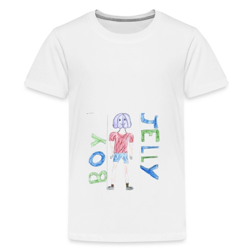 Awesome drawing made by: 'Anonymous' - Teenage Premium T-Shirt