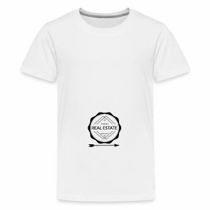 REAL ESTATE. - Camiseta premium adolescente