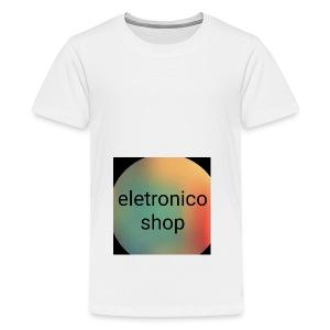 Eletronico shop - Maglietta Premium per ragazzi