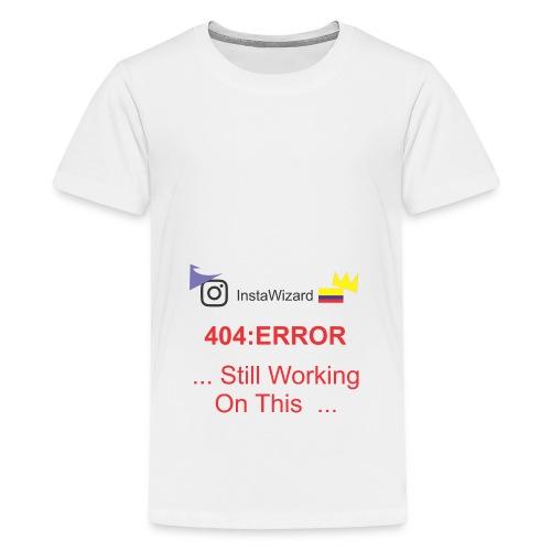 404 - Teenage Premium T-Shirt