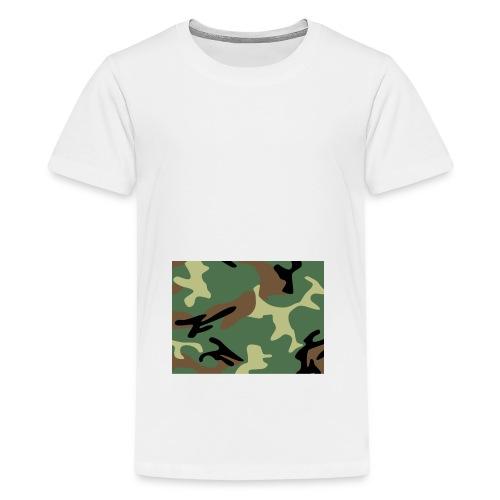 Camo_SJA - Teenage Premium T-Shirt