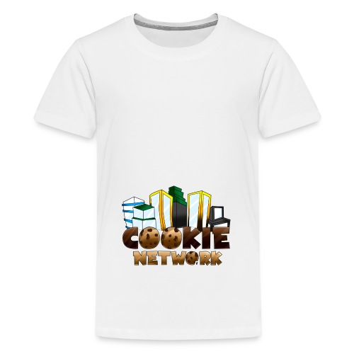 Cookienetwork logo - Teenager Premium T-shirt
