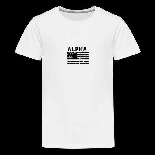 ALPHA - Teenager Premium T-Shirt