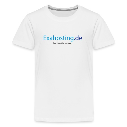 Exahosting Front - Teenager Premium T-Shirt