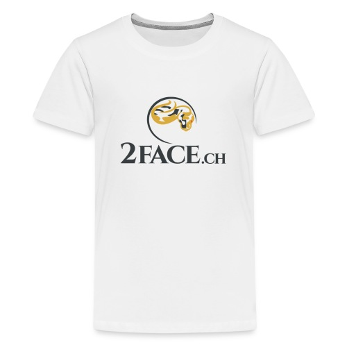 2face.ch - Teenager Premium T-Shirt