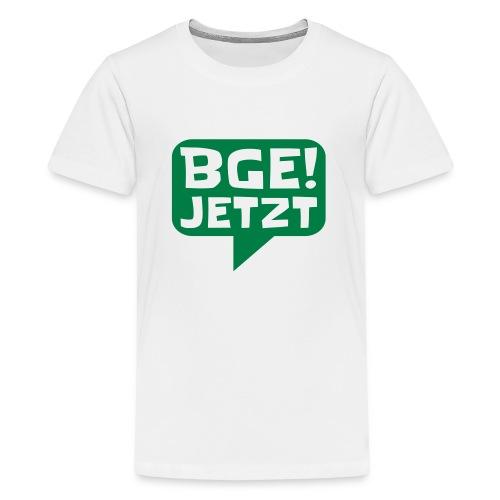 BGE! Jetzt - Die Bewegung - Teenager Premium T-Shirt