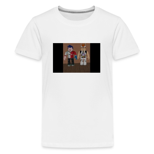 ROBLOX LIFE! - Premium-T-shirt tonåring