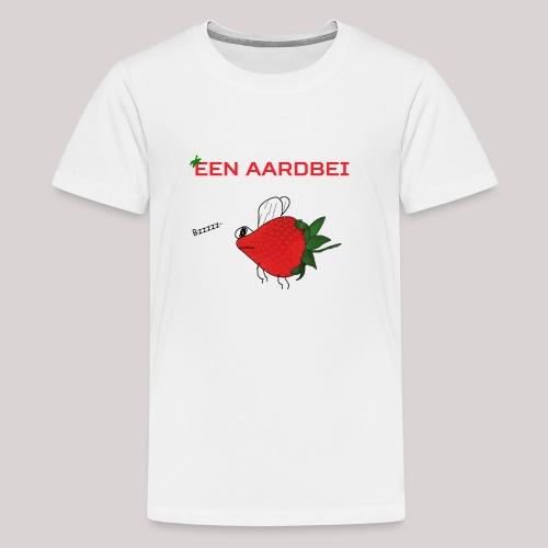 Een aardbei - Teenager Premium T-shirt