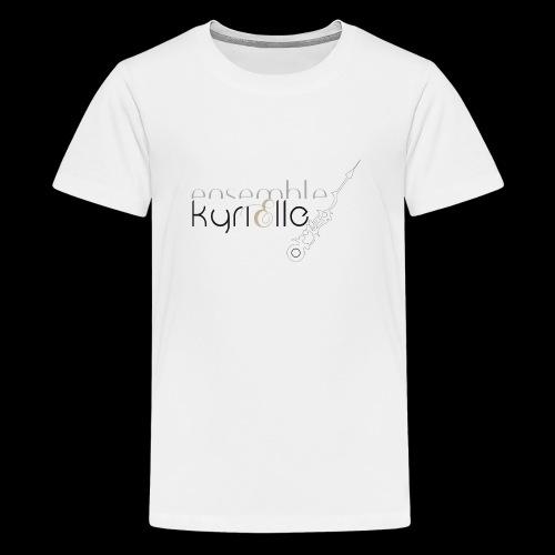 Ensemble Kyrielle - Logo - T-shirt Premium Ado