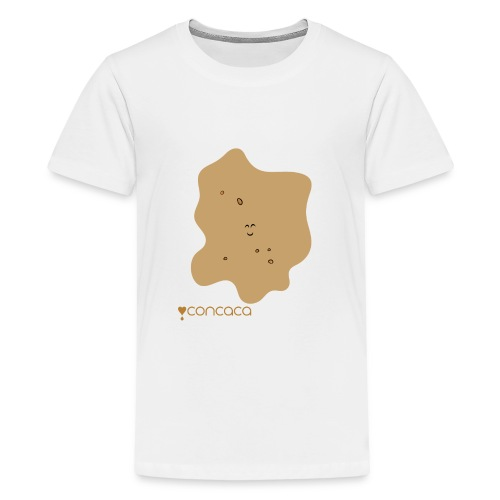 Baby bodysuit with Baby Poo - Teenage Premium T-Shirt