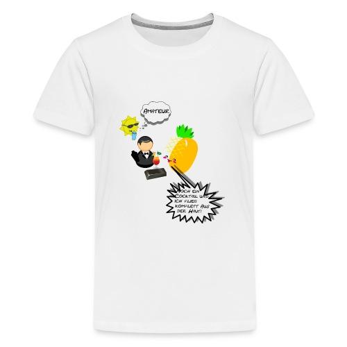Summer Ananas - Teenager Premium T-Shirt