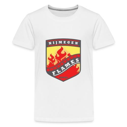 trainingsjack rood - Teenager Premium T-shirt