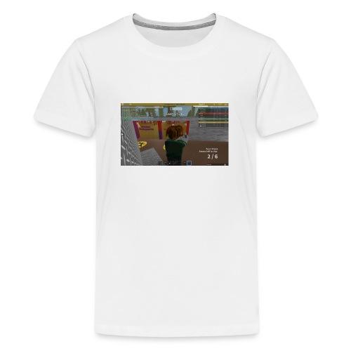 RobloxScreenShot03242017 234607037 - Teenager premium T-shirt
