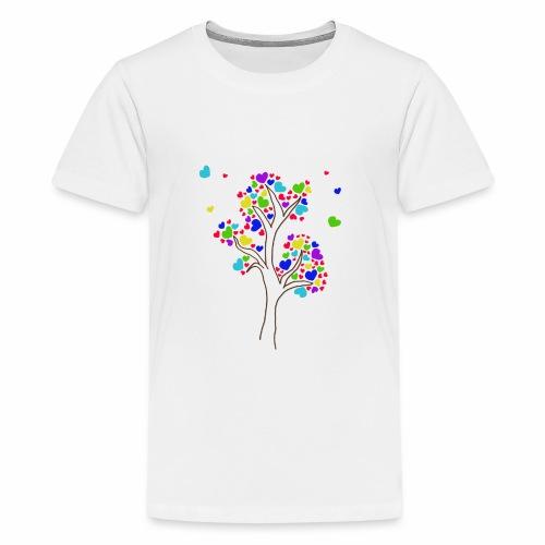 L'arbre fleurit en couleur et l'amitié aussi - T-shirt Premium Ado