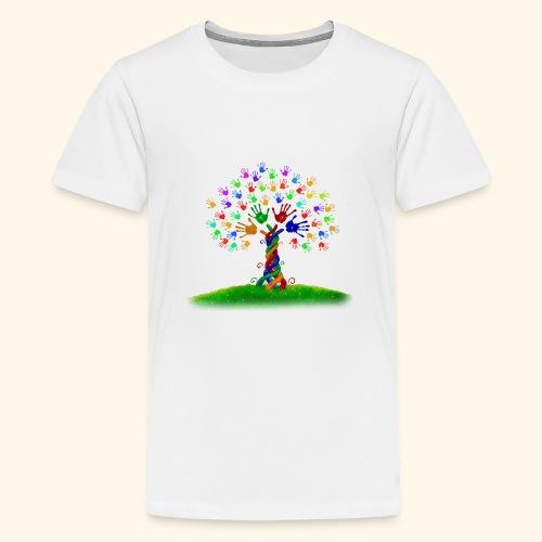 die lebendige Vielfalt - Teenager Premium T-Shirt