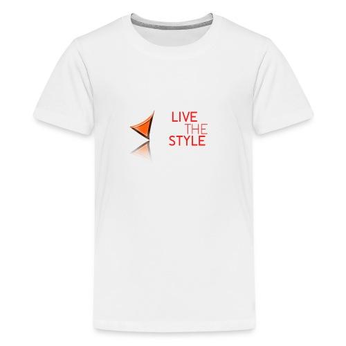 Live The Style - Teenage Premium T-Shirt