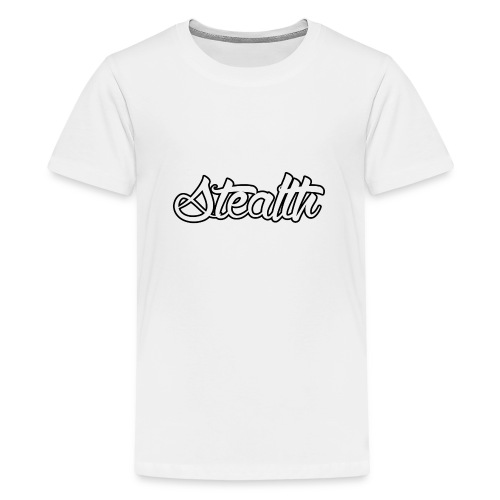 Stealth White Merch - Teenage Premium T-Shirt