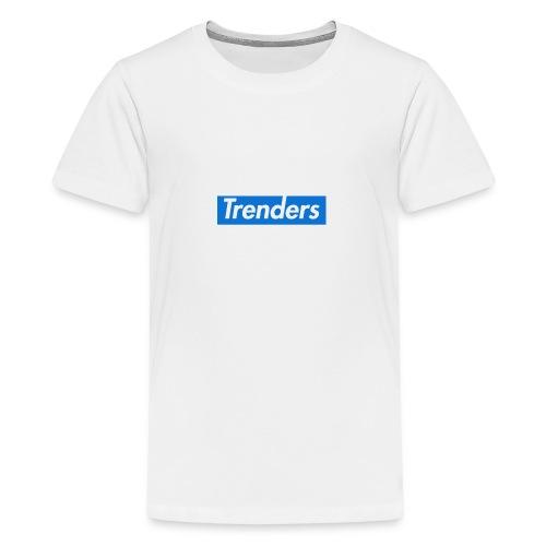 logo oficial trenders grande - Camiseta premium adolescente