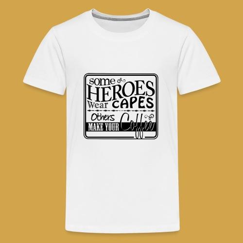 coffeeprint8F - Teenager premium T-shirt