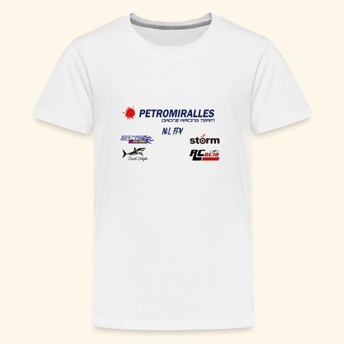 DRONE RACING TEAM - Camiseta premium adolescente