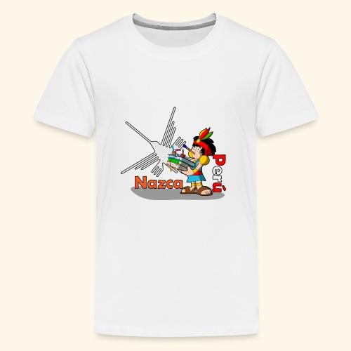 Nazca - Camiseta premium adolescente