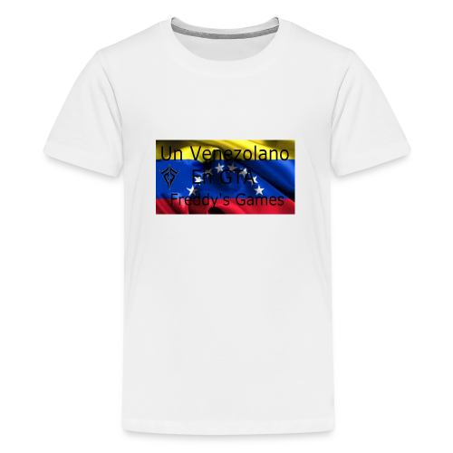Alfombra De Mouse Un Venezolano En GTA - Camiseta premium adolescente
