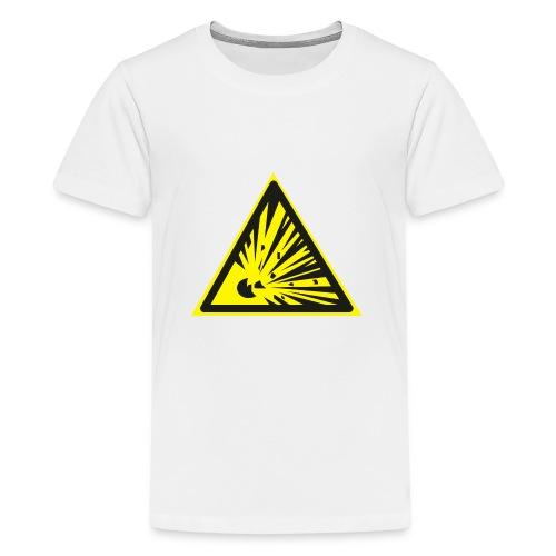 Uwaga! Materiał Wybuchowy! - Koszulka młodzieżowa Premium