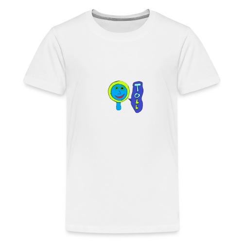 Bunte Lupe - Teenager Premium T-Shirt