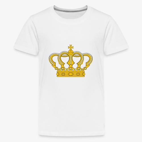 Crown Cross - Teenager Premium T-Shirt