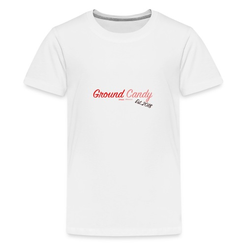 Ground Candy Logo - Teenager Premium T-Shirt