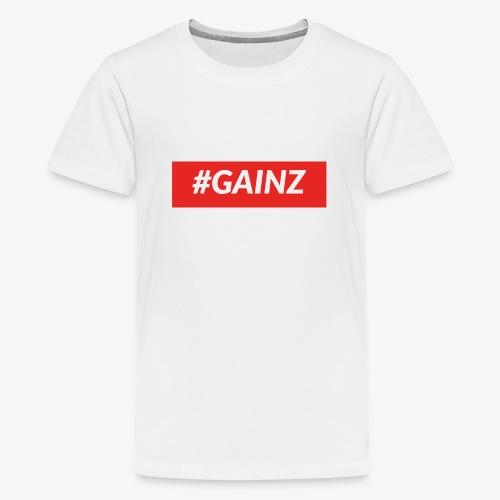 Gainz by Simon Mathis - Teenager Premium T-Shirt