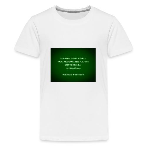 Citazione - Maglietta Premium per ragazzi